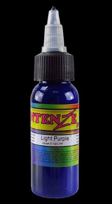 Mực xăm hình IntenZe Light Purple