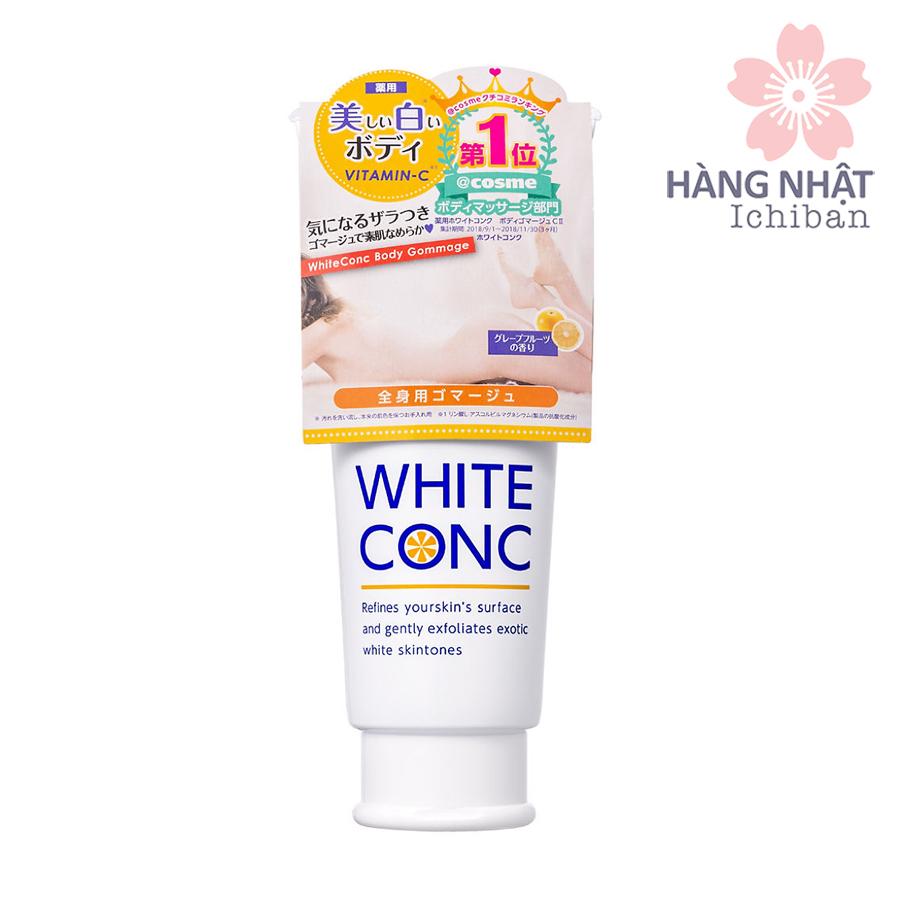 Tẩy tế bào chết body dưỡng trắng White Conc