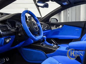 Bạn biết gì về xu hướng sơn đổi màu nội thất ô tô hợp phong thủy?