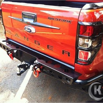 Bộ ốp cản trước sau Ford Ranger