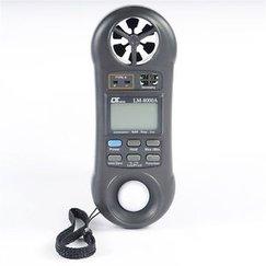 MÁY ĐO VI KHÍ HẬU LUTRON LM-8000A (đo tốc độ gió, ánh sáng, độ ẩm, nhiệt độ môi trường..) CAO CẤP