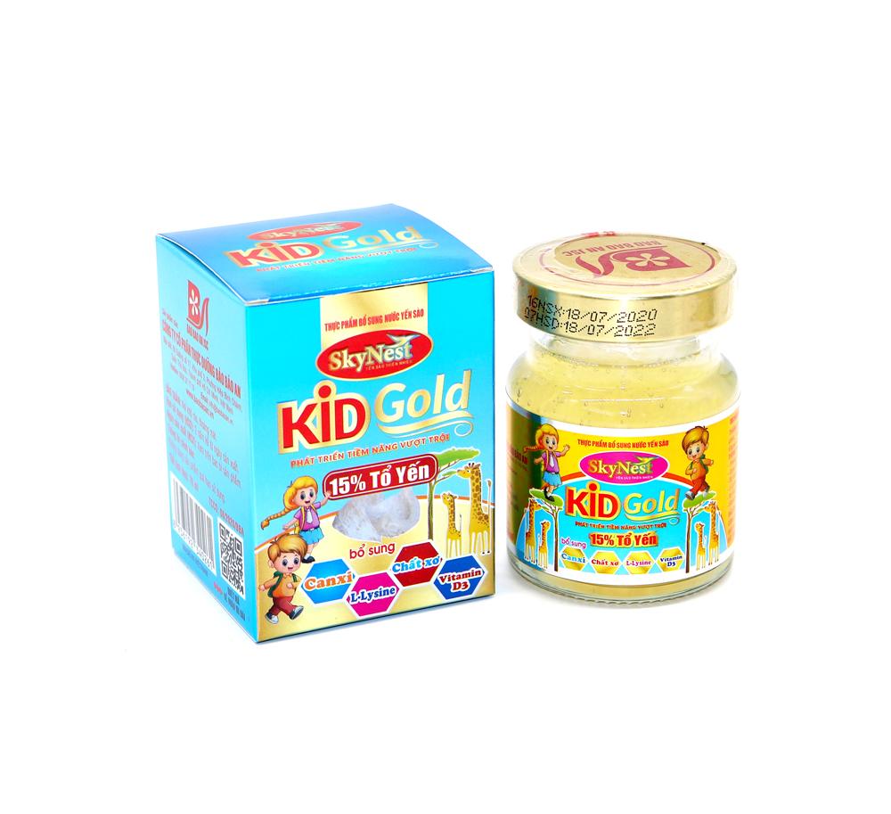Thực phẩm bổ sung Nước yến sào SkyNest Kid Gold cho trẻ nhỏ - lọ 70ml