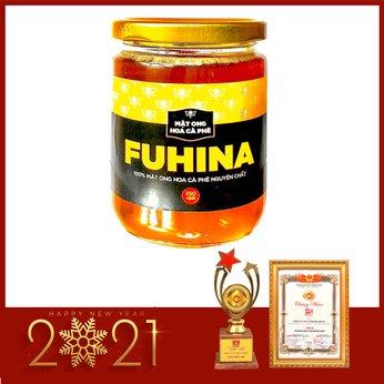 Mật ong hoa cà phê FUHINA nguyên chất - lọ 250ml