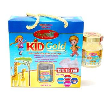 HỘP 6 TẶNG 1 - Thực phẩm bổ sung Nước yến sào SkyNest Kid Gold cho trẻ nhỏ - lọ 70ml