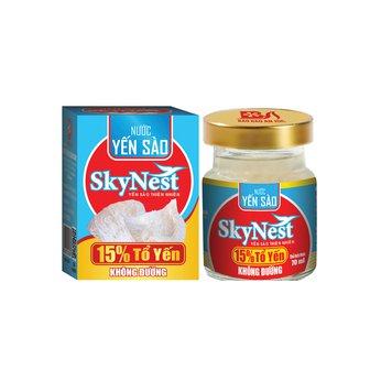 Nước yến sào SkyNest 15% Tổ Yến Không Đường - lọ 70ml