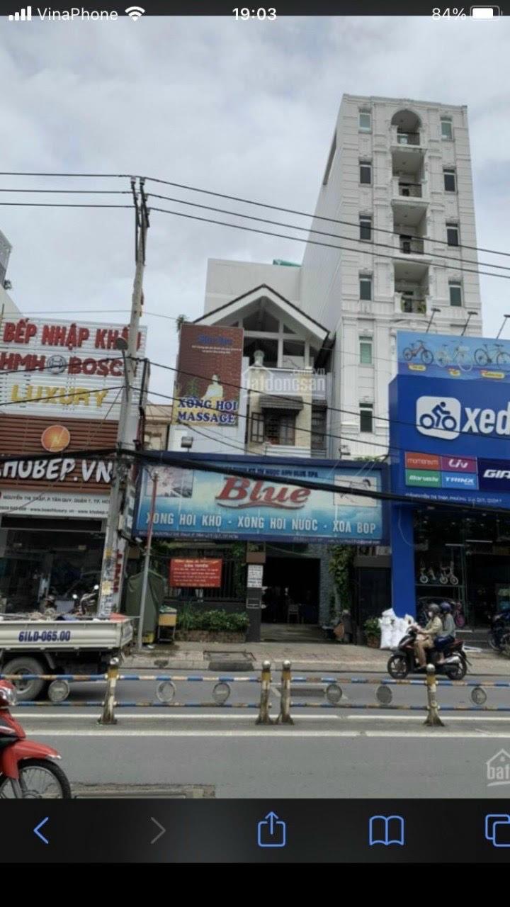 Nhà 4T mt Nguyễn Thị Thập , Tân Quy 8m x 27m