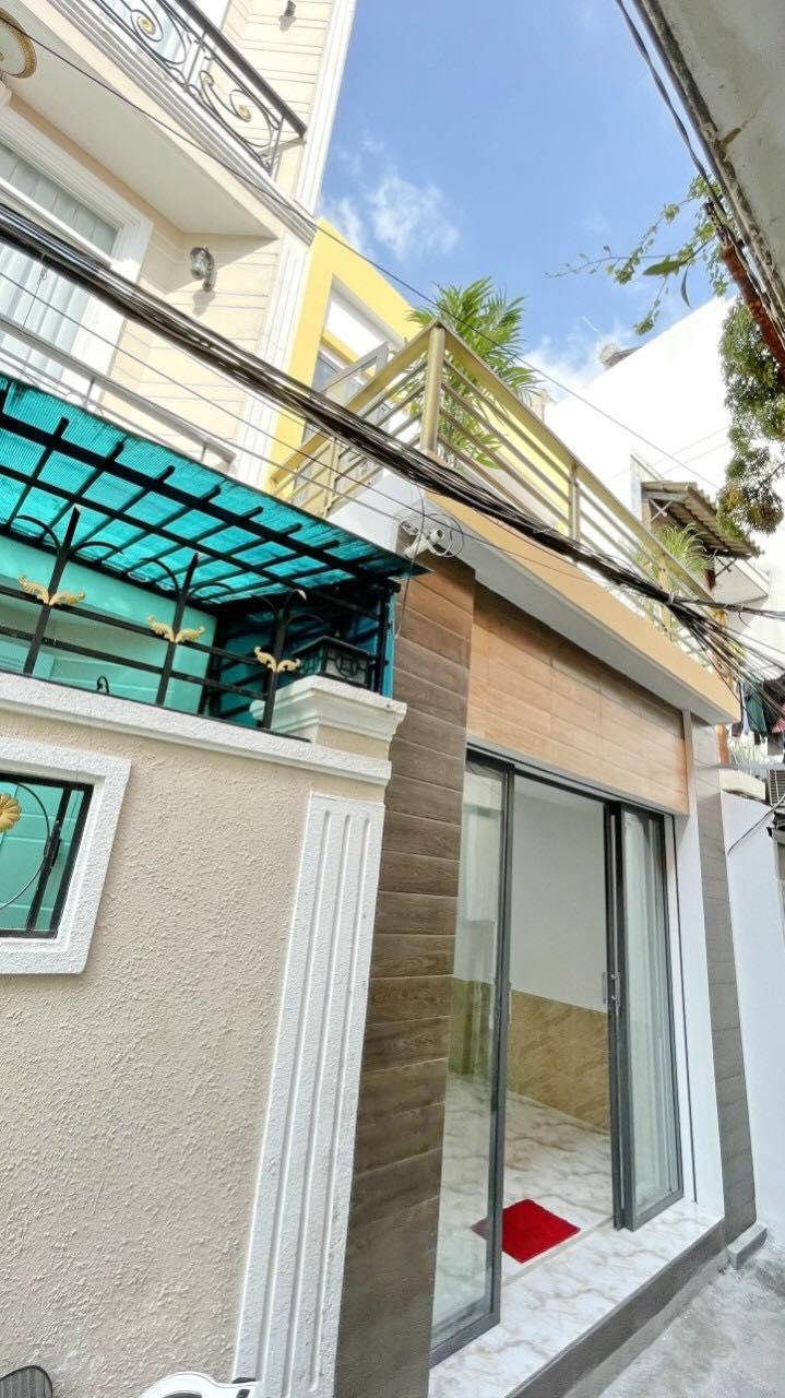 Nhà 2T hẻm 62 lâm văn bền ,tân kiểng , 4m x 9m