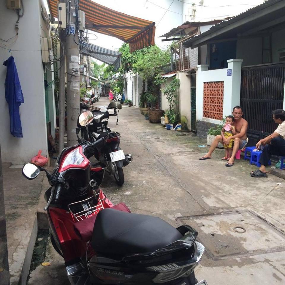Bán nhà quận 7 hẻm 1422 Huỳnh Tấn Phát, 5m x 11m, nhà cấp 4 chỉ 1 tỷ 850