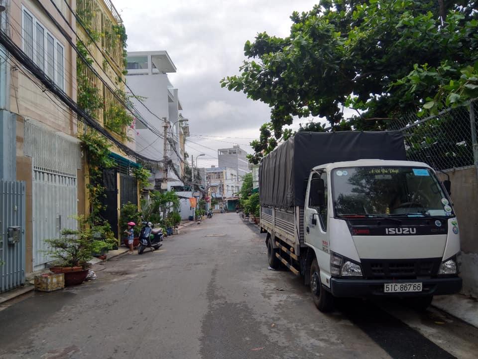 Nhà 3T hẻm xe hơi đường 25A tân quy 6.9m x 16.3m