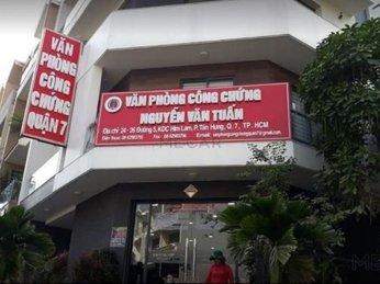 Danh sách các văn phòng công chứng bất động sản tại quận 7 - tp.Hcm