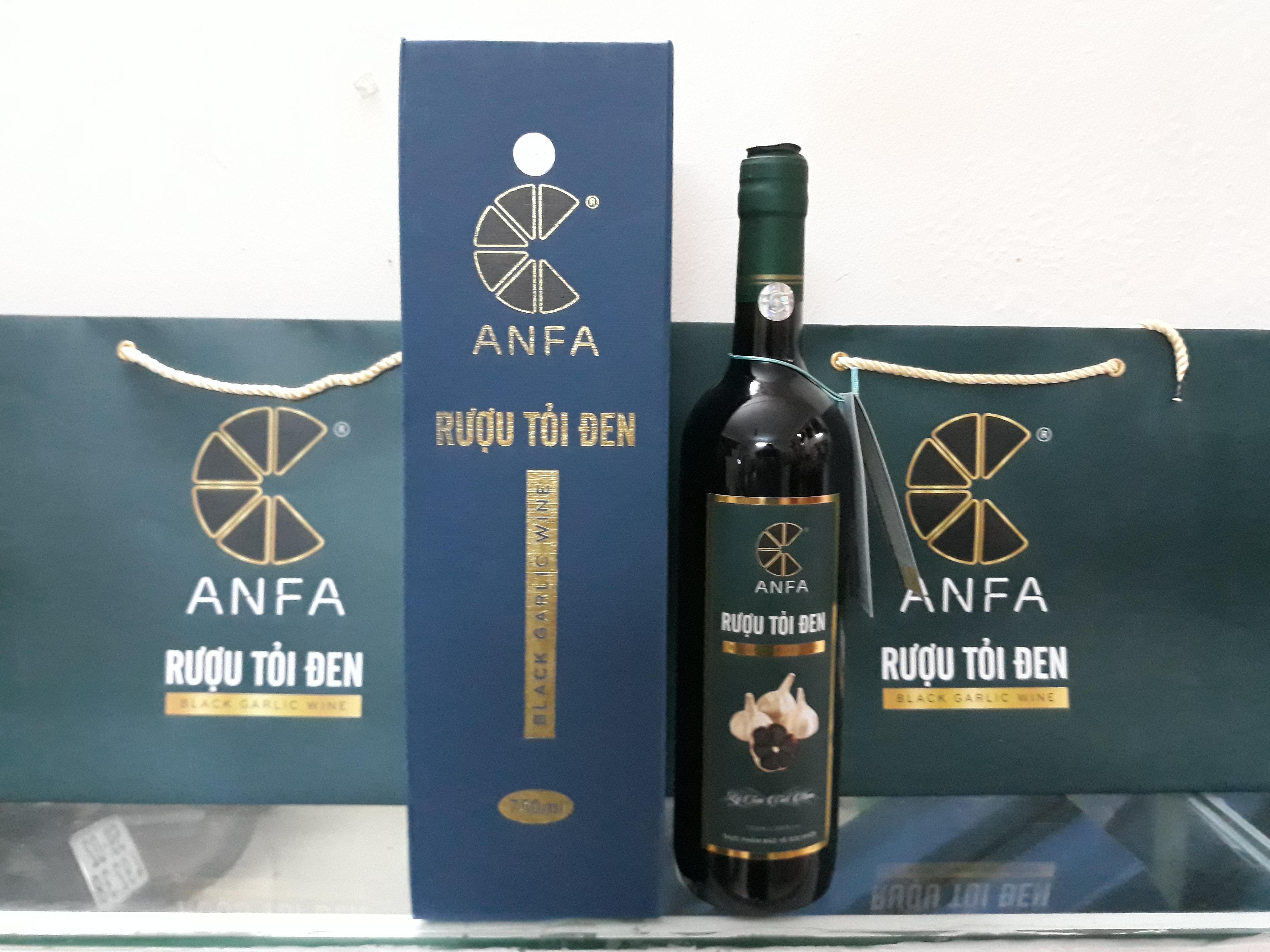 Rượu Tỏi Đen Anfa 750ml