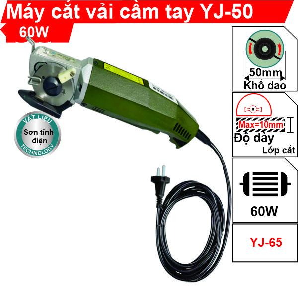 Máy cắt vải cầm tay YJ-50 cao cấp, siêu bền, giá rẻ