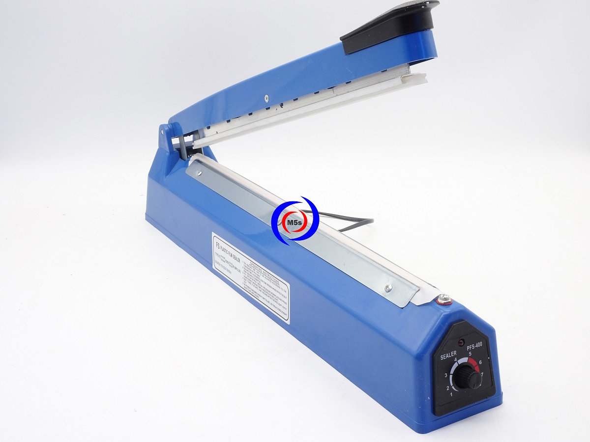 Máy hàn miệng túi mini dập tay PFS-400 [ Vỏ nhựa ]