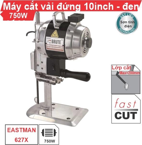 Máy cắt vải đứng 10 inch EASTMAN vỏ sơn tĩnh điện cao cấp, giá rẻ