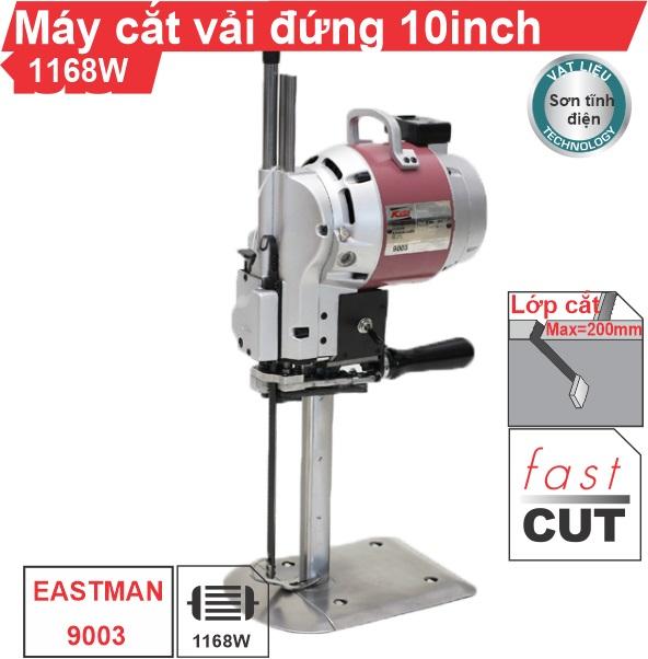 Máy cắt vải đứng Kaisiman KSM-9003 10 inch 1168W chính hãng, giá rẻ