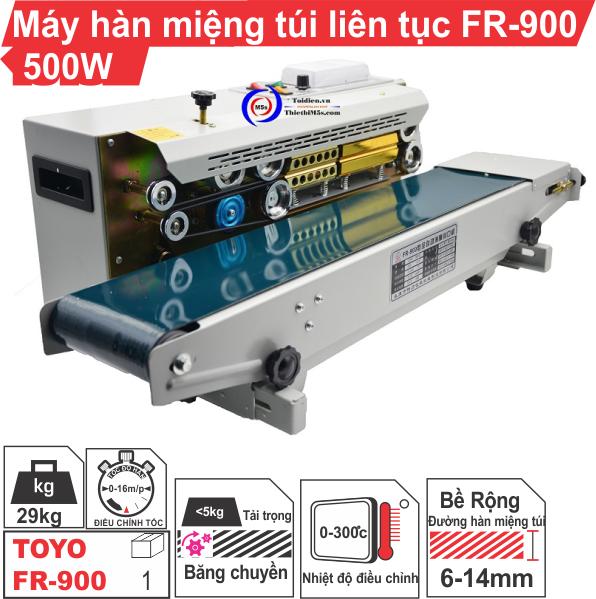 [ Máy hàn miện túi FR900 ] Gọi ngay để được tư vấn về sản phẩm.