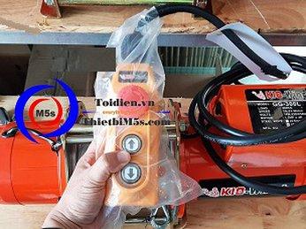 Review máy tời điện kéo mặt đất KIO Winch