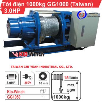TỜI ĐIỆN 1 TẤN KIO WINCH GG-1060