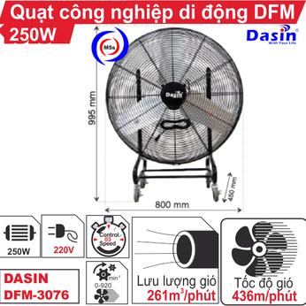 Quạt công nghiệp di động Dasin DFM-3076