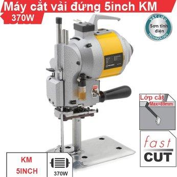 Máy cắt vải đứng 5 inch KM (vỏ sơn tĩnh điện)