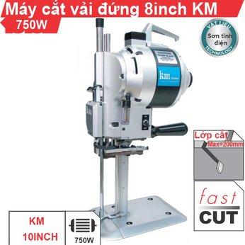 Máy cắt vải đứng 8 inch KM (vỏ sơn tĩnh điện)