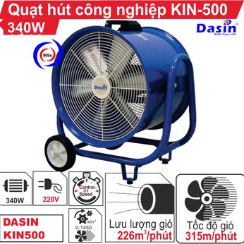 Quạt hút công nghiệp Dasin KIN-500