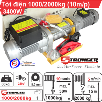 TỜI XÂY DỰNG STRONGER 1000-2000KG