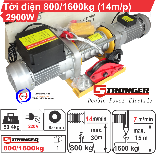 TỜI XÂY DỰNG STRONGER 800-1600KG