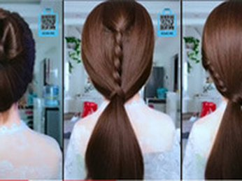 Hướng dẫn tạo kiểu tóc #1 đi học, đi làm, công sở, dự tiệc, dạo phố