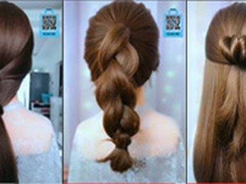 Hướng dẫn tạo kiểu tóc #2 đi học, đi làm, công sở, dự tiệc, dạo phố