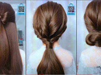 Hướng dẫn tạo kiểu tóc #4 đi học, đi làm, công sở, dự tiệc, dạo phố