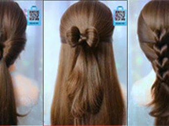 Hướng dẫn tạo kiểu tóc #5 đi học, đi làm, công sở, dự tiệc, dạo phố
