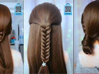 Hướng dẫn tạo kiểu tóc #7 đi học, đi làm, công sở, dự tiệc, dạo phố