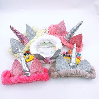 Băng Đô Rửa Mặt, Trang Điểm Unicorn - Vợ Chồng Tôi