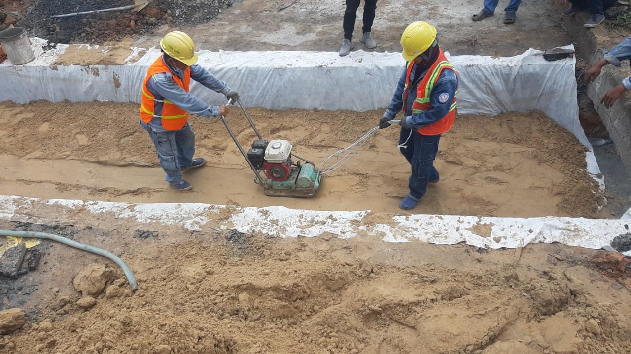 Thi công đường ống thiết bị M&E, PCCC
