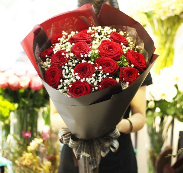 """Bó hoa """"Trao Tặng Người Yêu"""""""