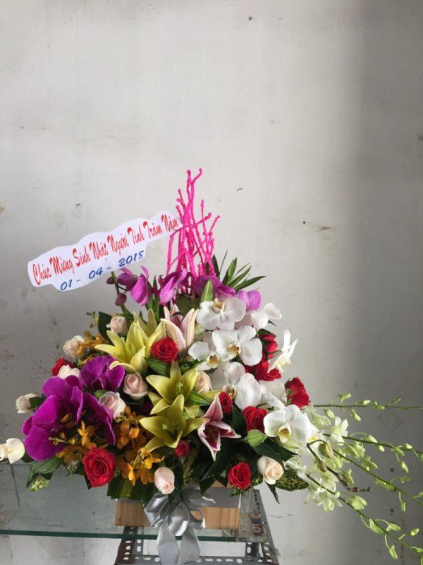 """Giỏ hoa """"Thành Công Như Ý"""""""