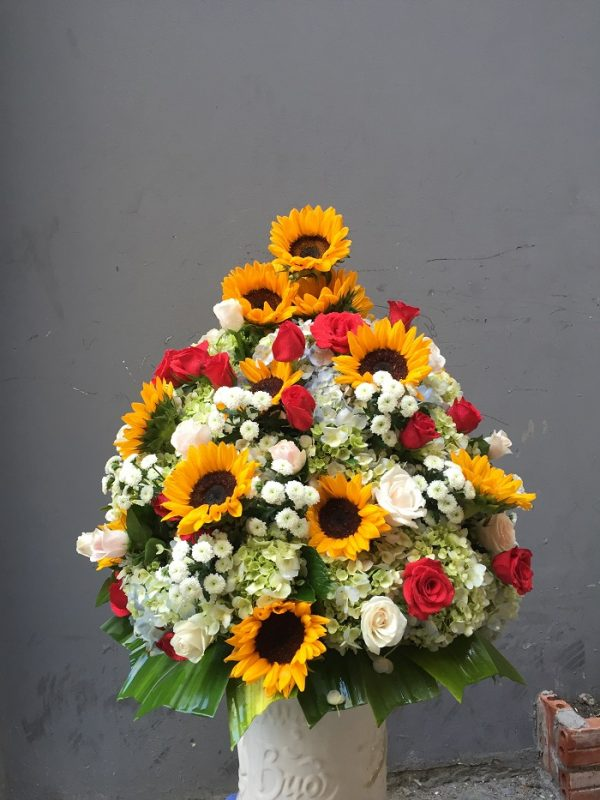 Bình hoa tặng Mẹ