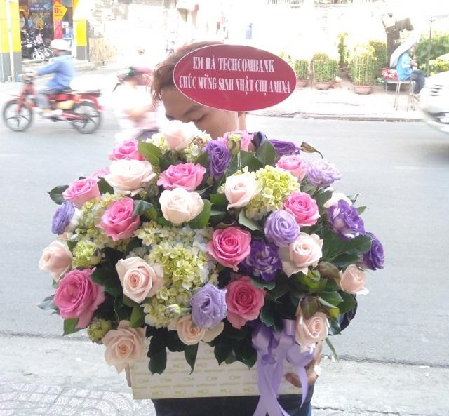 Giỏ hoa tươi Người Tôi Thương