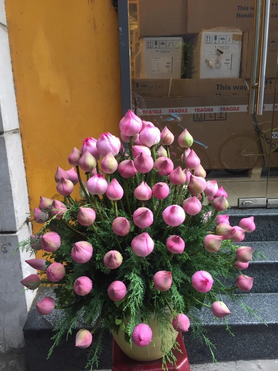 """Giỏ hoa tươi """"Hạt Giống"""""""