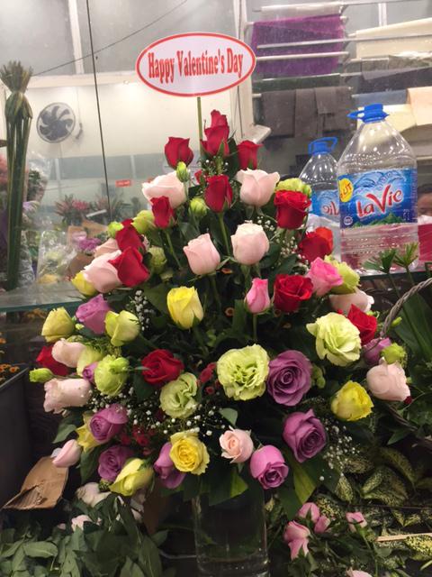 Giỏ hoa Chuyện Tình Tôi
