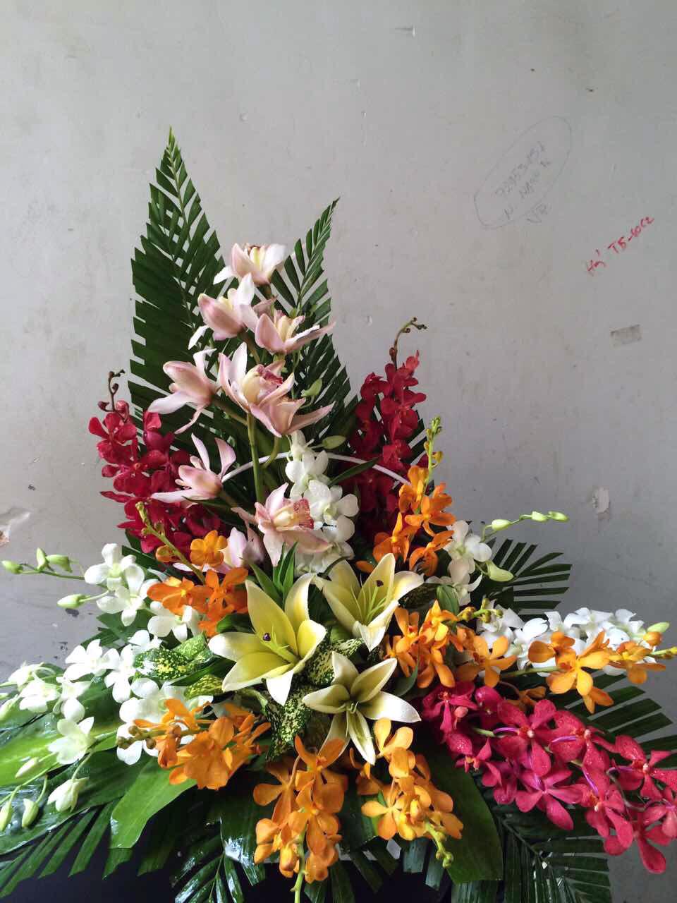 """Giỏ hoa tươi """"Cám ơn"""""""