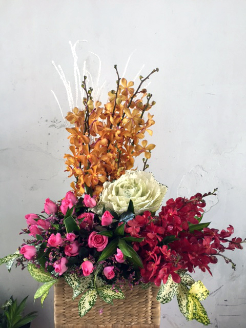 hoa tươi chúc mừng khai trương