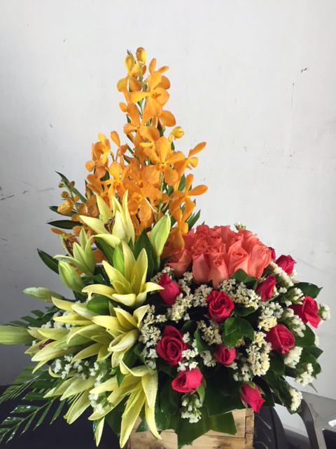 """Giỏ hoa tươi """"Đại Cát Đại Lợi"""""""