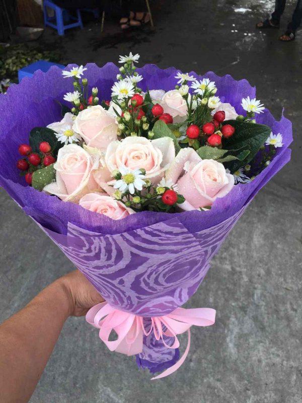 """Bó hoa tình nhân """"Vùng Trời Bình Yên"""""""