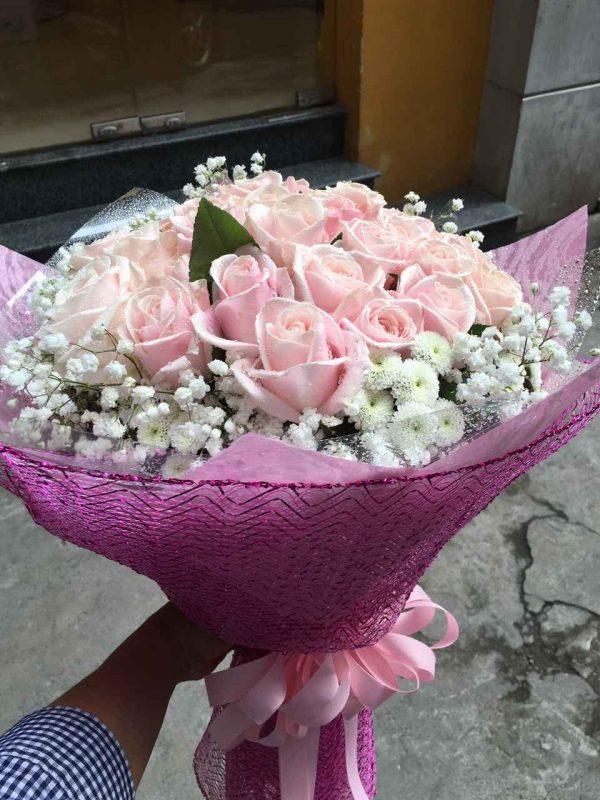 """Bó hoa tình yêu """"Gót Hồng"""""""