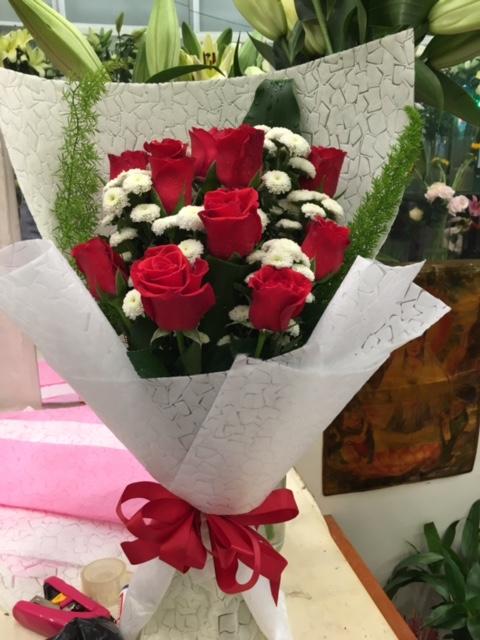 """Bó hoa hồng """"Anh Yêu Em"""""""