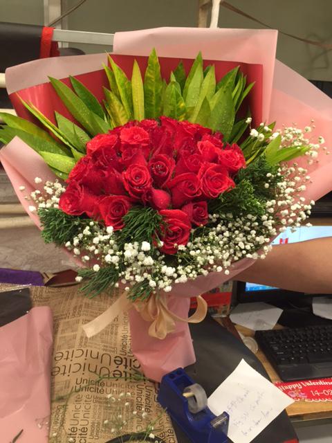 """Bó hoa """"Tình Yêu Nồng Nàn"""""""