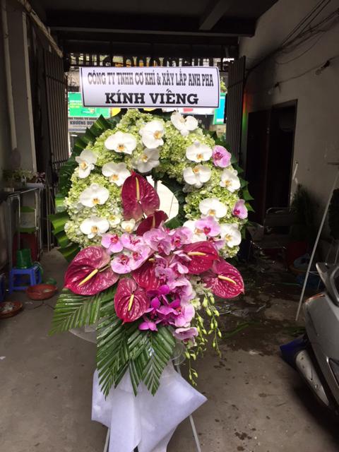 """Vòng hoa viếng """"Từ Biệt"""""""