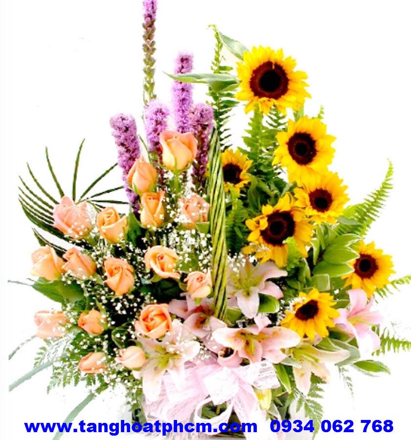 Hoa sinh nhật Hoa hướng dương